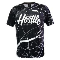 T-Shirt Dry Fit HK Army Mens Marble schwarz