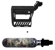 HPA System 300 Bar Planet Eclipse HDE with Regulator and 0,25l Armotech Tank incl. PWR Stock