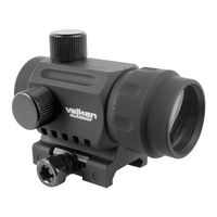 Rotpunktvisier Valken Mini Dot Sight RDA20, schwarz