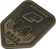 Patch Planet Eclipse, Mech Division black / tan