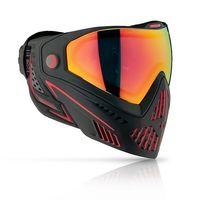 Paintball Maske Dye i5 Fire 2.0 schwarz / rot