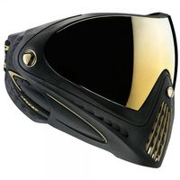 Paintball Maske Dye I4 Pro Invision schwarz / gold