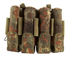 9 Pot (5+4) Protoyz Rebel Pack Molle Flecktarn unisize