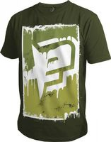 T-Shirt Planet Mens Radical oliv