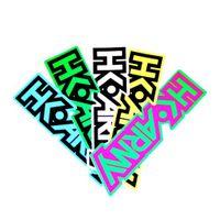 HK Army Typeface Aufkleber