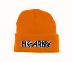 HK Army Typeface Beanie orange