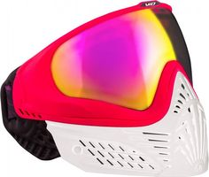 Paintball Maske Virtue VIO Extend White Ruby