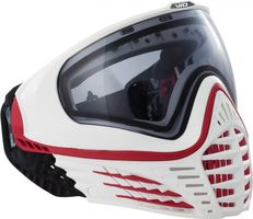 Paintball Maske Virtue VIO Contour Pro rot / weiss