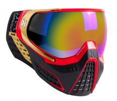Goggle HK Army KLR Element black / red / gold