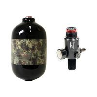 HPA System 4500 Psi Planet Eclipse HDE Camo Edition with Ninja Ultra Light Regulator and 1,1l Armotech tank