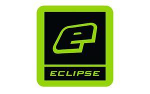 Eclipse Large E-Sticker, green