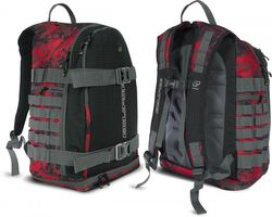 Eclipse GX Gravel Bag Molle Fire red