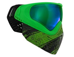 Paintball Maske Virtue VIO Extend Graphic Series Emerald black