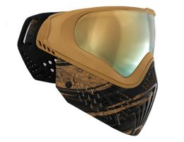 Paintball Maske Virtue VIO Extend Graphic Series Gold schwarz / gold