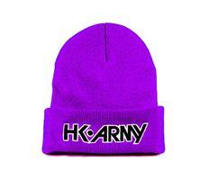 HK Army Typeface Beanie lila