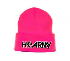 HK Army Typeface Beanie pink