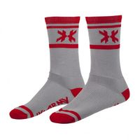 Socks HK Army Tracer grey / red