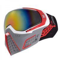 Goggle HK Army KLR Slate white / red