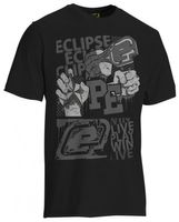 T-Shirt Planet Mens Vibe schwarz