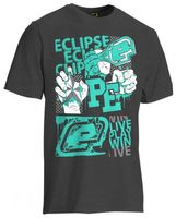 T-Shirt Planet Mens Vibe dunkelgrau