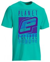 T-Shirt Planet Mens Fade teal