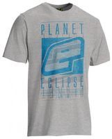 T-Shirt Planet Mens Fade grau