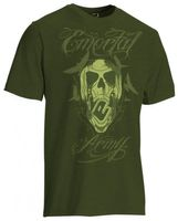 T-Shirt Planet Mens Emortal olive