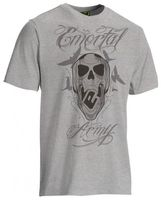 T-Shirt Planet Mens Emortal grau