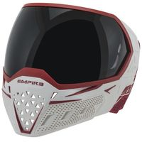 Paintball Maske Empire EVS weiss / rot