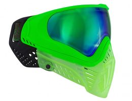 Paintball Maske Virtue VIO XS Crystal Emerald lime
