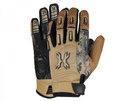 HK Army Pro Gloves Full Finger Camo tan