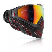 Paintball Maske Dye i5 Fire schwarz / rot