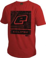 T-Shirt Planet Mens Pro-Formance Icon red
