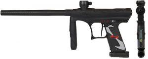 Tippmann Crossover .68 Cal schwarz, 0,8l HP, JT Premise Headshield single, Munbox