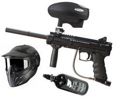 BT4 Slice Combat .68 Cal, 0,8l HP, JT Premise Headshield single, Valken V-Max+