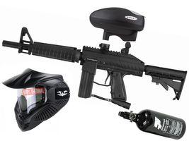 Tippmann Stryker XR1 .68 Cal black, 0,8l HP, Valken MI-3 thermal, Valken V-Max+