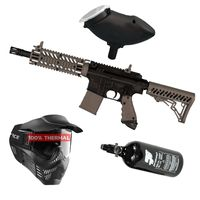 Tippmann TMC Magfed .68 Cal black / tan, 0,8l HP, V-Force Armor thermal, Munbox