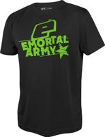 T-Shirt Planet Mens Pro-Formance Emortal Army black