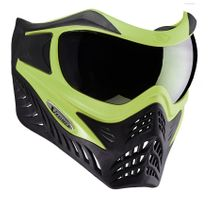 Paintball Maske V-Force Grill lime / schwarz
