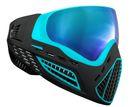 Paintball Maske Virtue VIO Ascend Aqua Ice schwarz / türkis 001
