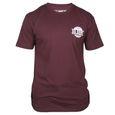 T-Shirt HK Army Mens Global burgunder