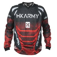 Paintball Jersey HK Army Freeline Fire red