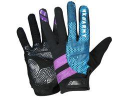 Paintball Gloves HK Army Freeline Full Finger AMP purple / teal