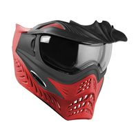Paintball Maske V-Force Grill SC Scarlet grau / rot