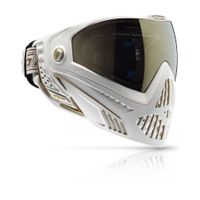 Paintball Maske Dye i5 weiß / gold