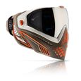 Paintball Maske Dye i5 Lava weiß / braun / orange
