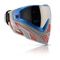 Paintball Maske Dye i5 Patriot rot / blau / grau