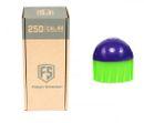 Tiberius First Strike .68 Cal 250 Paintballs, purple / green 001