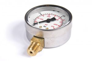 Pressure gauge for HP professional filling station
