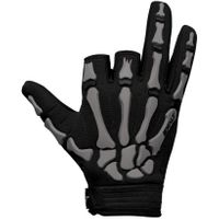 Paintball Handschuhe Exalt Death Grip Gloves grau